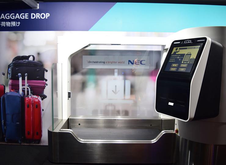 NECの顔認証システムを成田空港で採用 搭乗手続きの時間を短縮