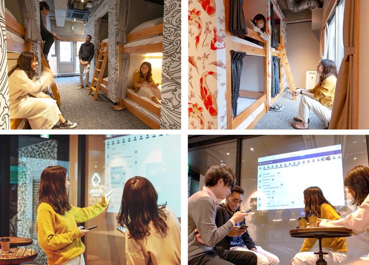 社交型コンテンツホステルが上野にオープン 自動翻訳機で100ヵ国語以上での対話可能に