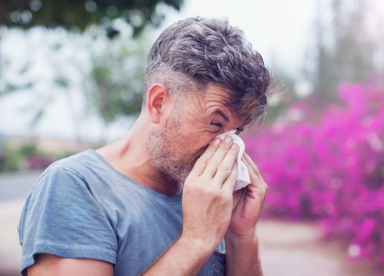 つらいアレルギー