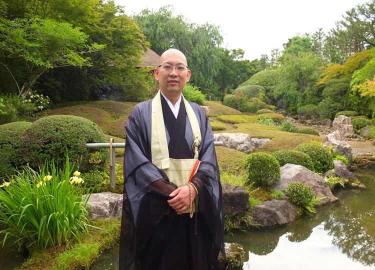 京都・妙心寺退蔵院副住職の松山大耕さん