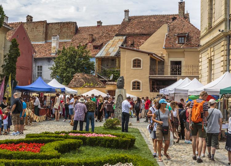 ルーマニア屈指の観光地 シギショアラ