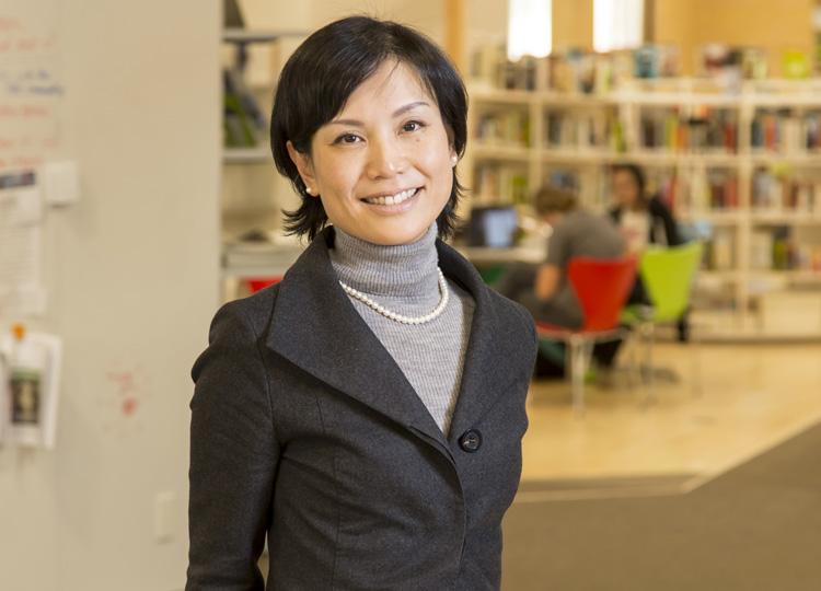 インターナショナルスクール UWC ISAK Japan の代表理事、小林りんさん