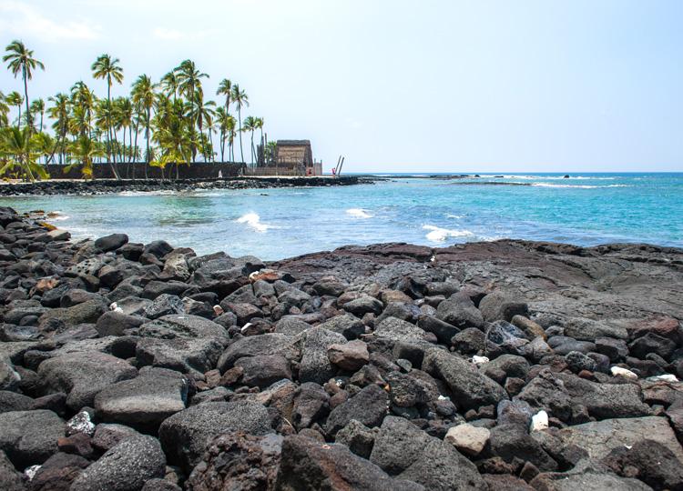 ハワイ島コナ海岸