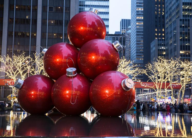 ニューヨークでクリスマス