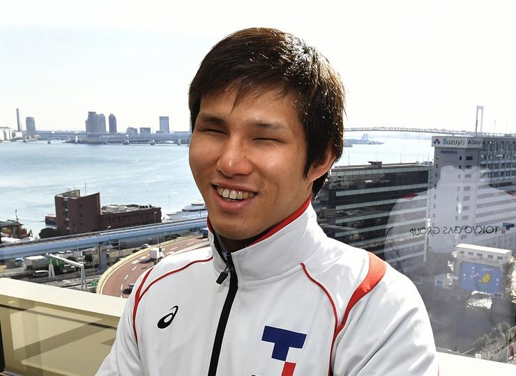 競泳選手の木村敬一さん