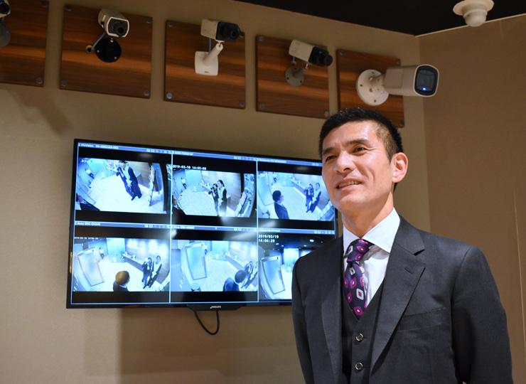 (株)アロバの代表取締役社長の内藤秀治郎さん