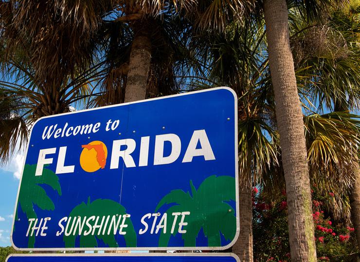 陽光の州、フロリダ