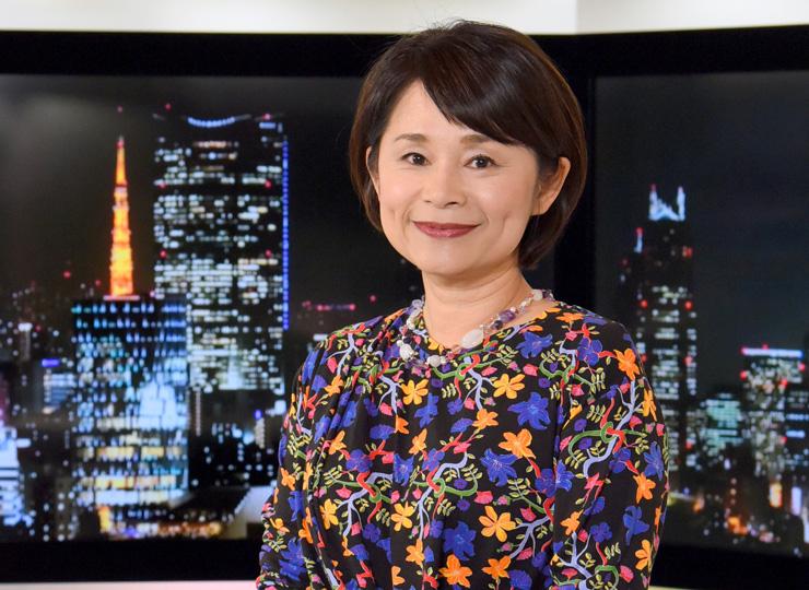 NHK国際放送局のジャーナリスト、榎原美樹さん
