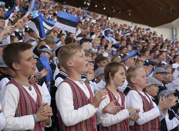 「歌と踊りの祭典」はユネスコの世界無形文化遺産に登録されている。