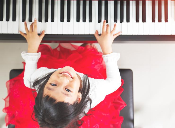 ピアノを弾くことの恩恵