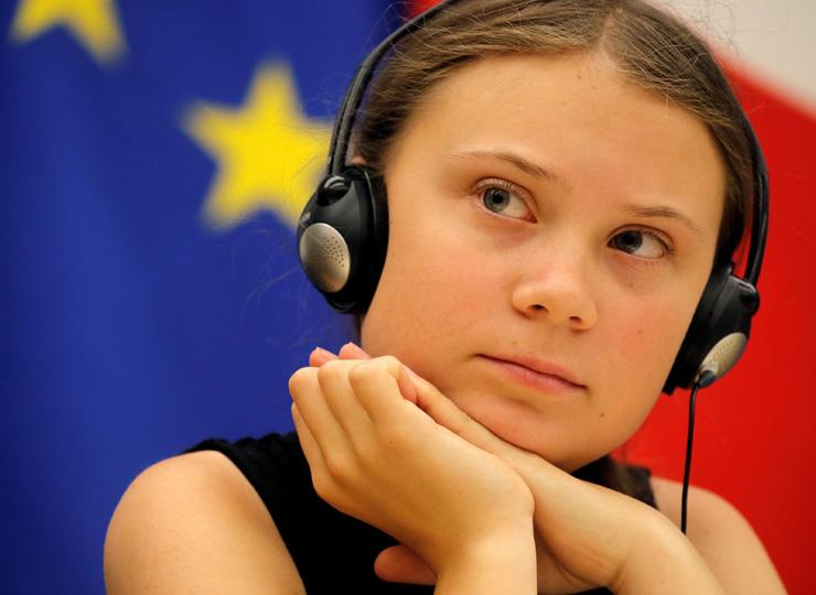 環境活動家のグレタ・トゥーンベリさん、バンドと組んでメッセージを発信