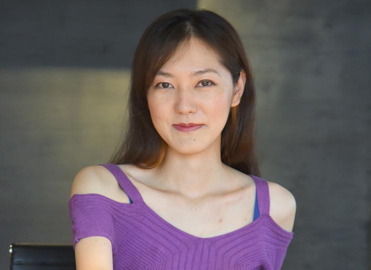 バックギャモンプレーヤーの矢澤亜希子さん