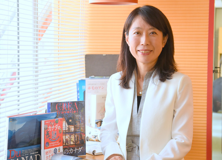カナダ観光局の日本地区代表、半藤将代さん