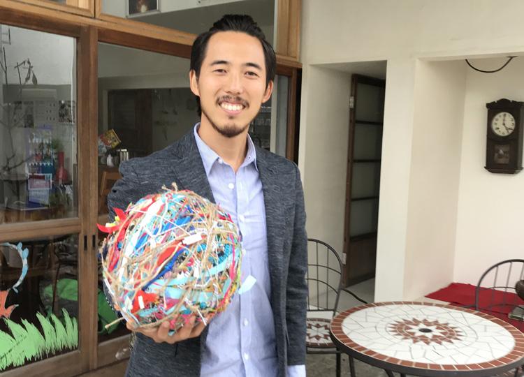 コミュニティースペースCASACOを運営する加藤功甫さん