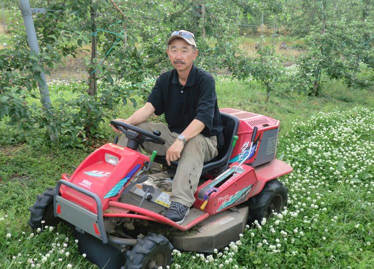 りんご農家を営む中村隆宣さん