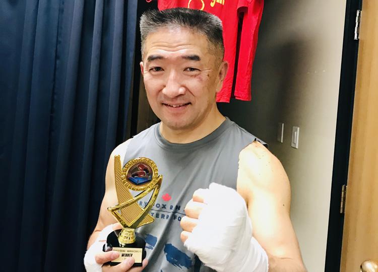 ボクシングトレーナーの吉川英治さん