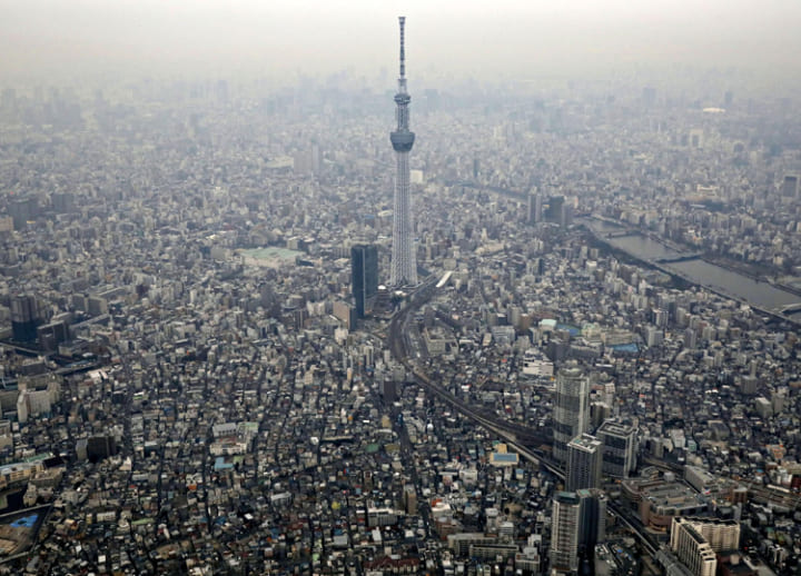 Time passes faster at top of Tokyo Skytree than on ground: Japanese study