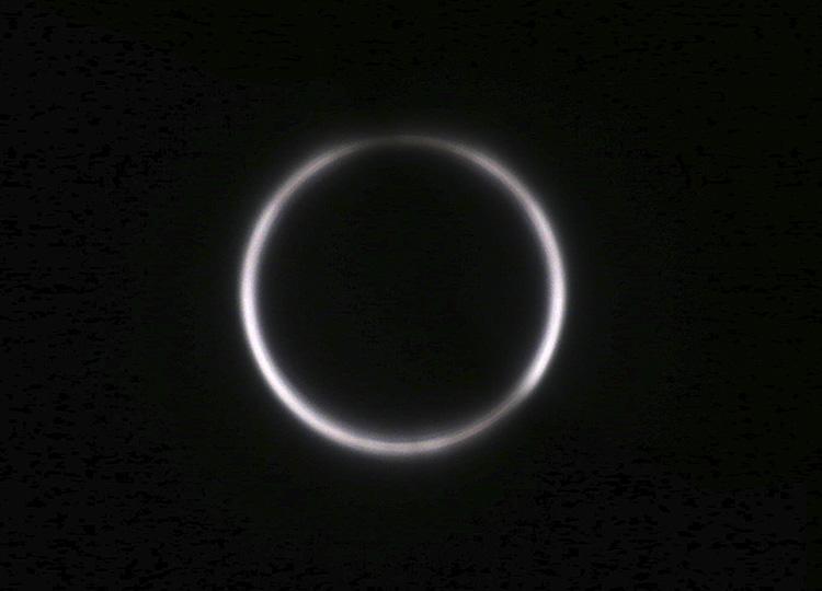 世界各地で日食を観測 珍しい夏至の天体ショー