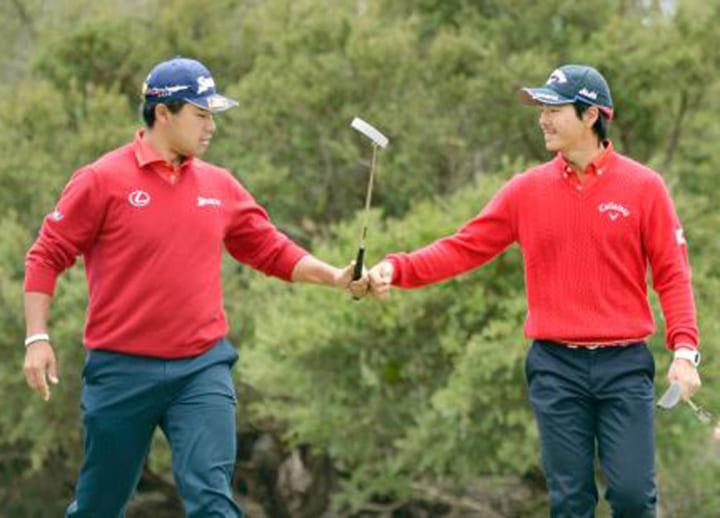 Golf: Matsuyama, Ishikawa launch project to raise funds to fight virus pandemic