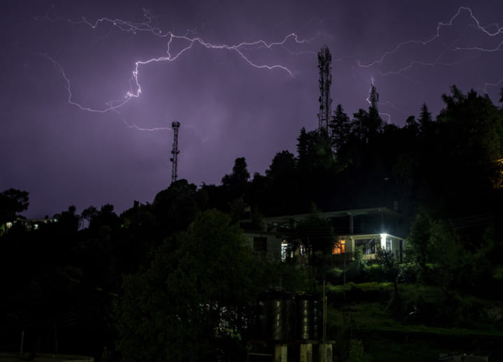 Lightning strikes kill over 100 in two Indian states as rainy season starts