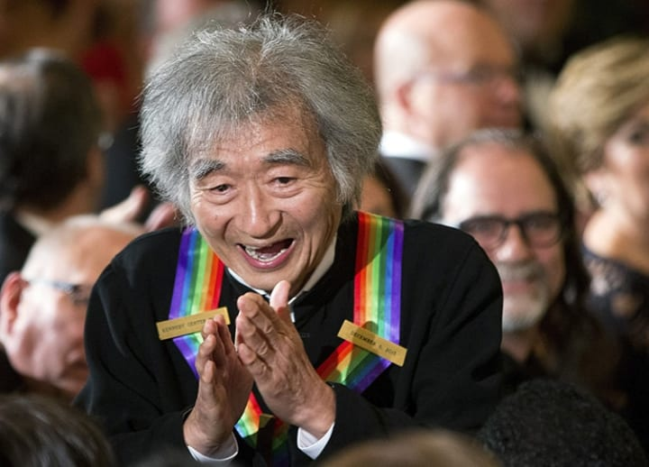 Boston proclaims Japanese conductor's 85th birthday to be 'Seiji Ozawa Day'