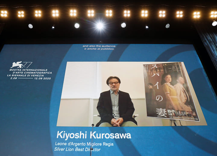 Kurosawa becomes 1st Japanese since 2003 to win director's award at Venice