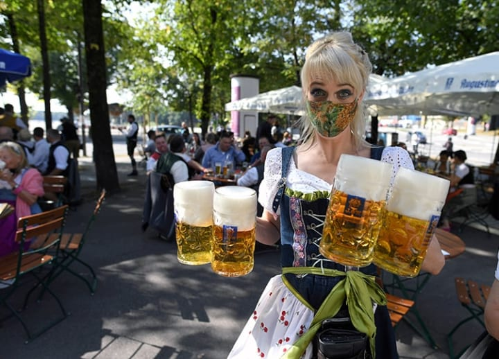 Smaller venues, rules on mask-wearing: Oktoberfest in a pandemic year