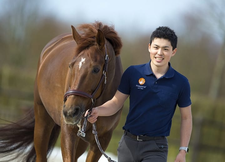 Dressage rider keeps hopes high for the next Olympics