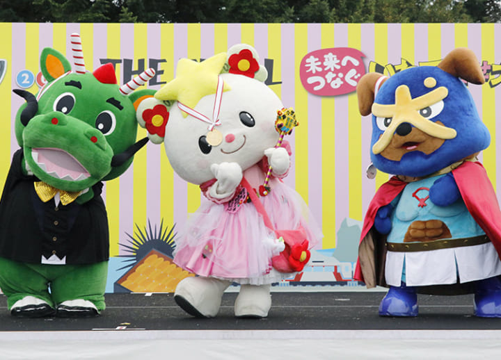 Rikuzentakata fairy wins 10th and final national mascot competition