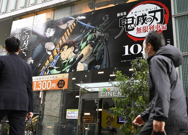<i>Demon Slayer</i> movie breaks Japan box office record, raking in ¥10B in 10 days