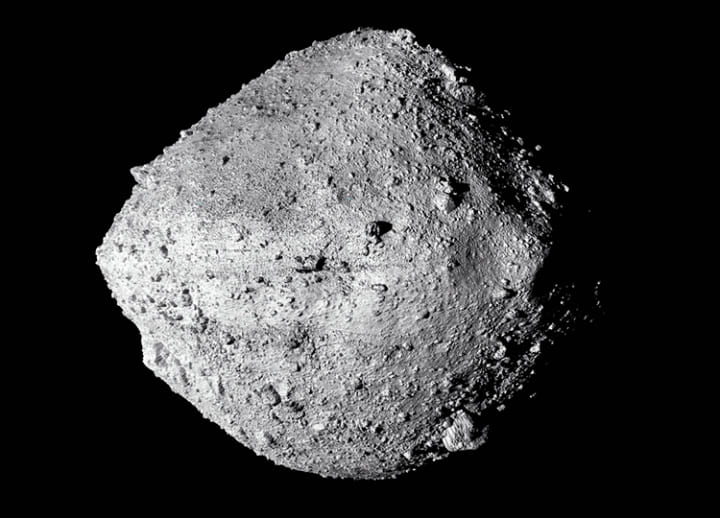 NASA probe on asteroid collects too much material; door gets stuck open