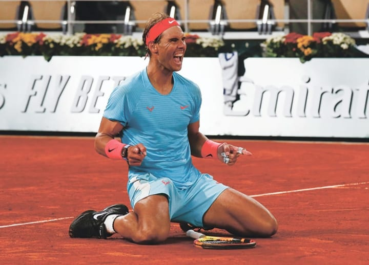 Nadal wins French Open to tie Federer's 20 Grand Slams record