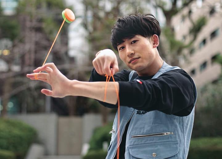 Into the swing of yo-yos and English skills