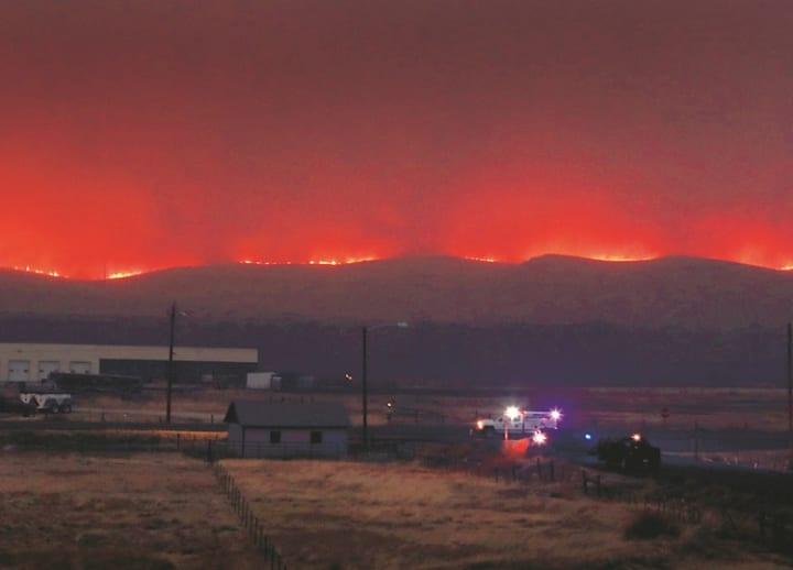 Colorado burns
