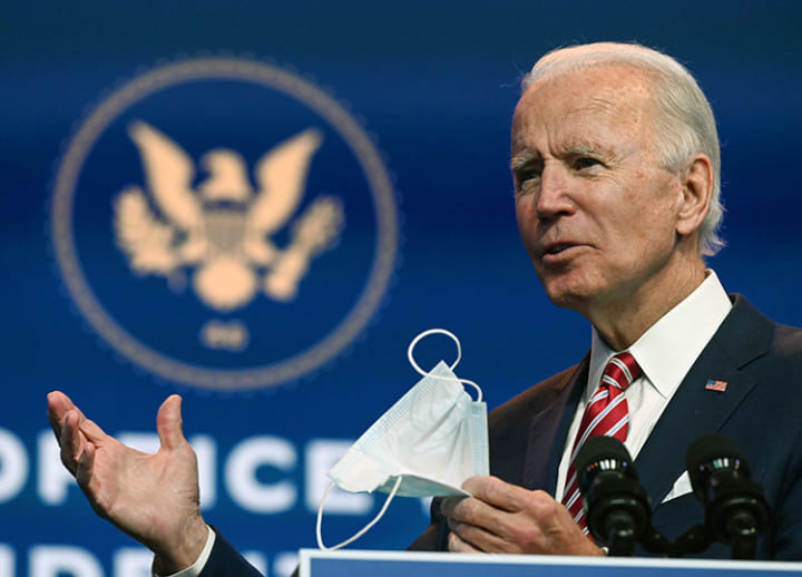 'More people may die,' Biden says, if Trump goes on blocking pandemic cooperation