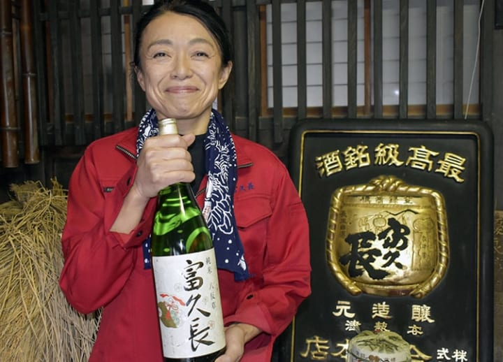 Japanese sake master makes BBC list of world's 100 most inspiring women