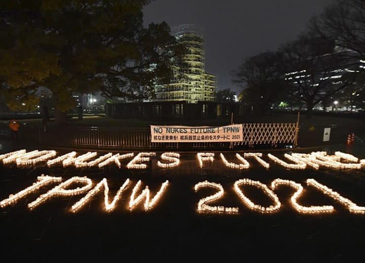 Activists call for Japan's participation in UN treaty banning nuclear weapons