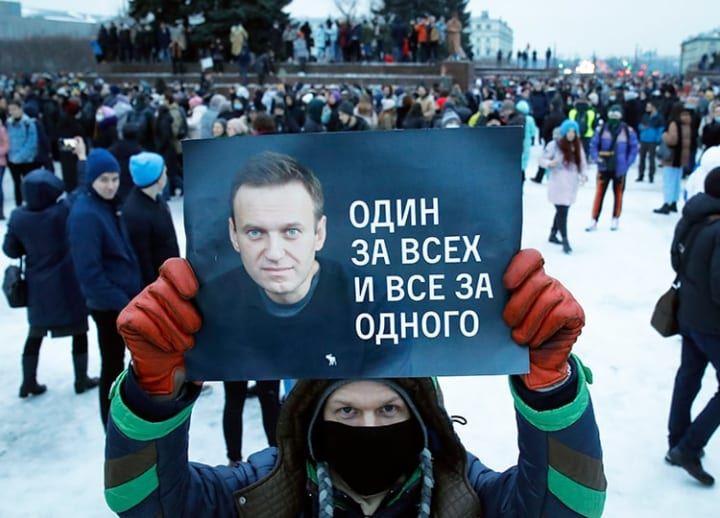Russia: New protests called to demand opposition leader Navalny's release from jail