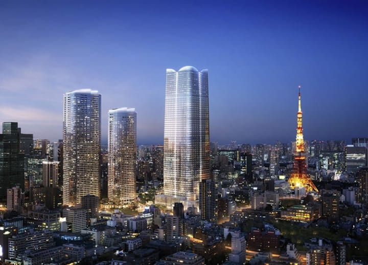 Japan's tallest residential building to be completed in Tokyo's Minato Ward in '23