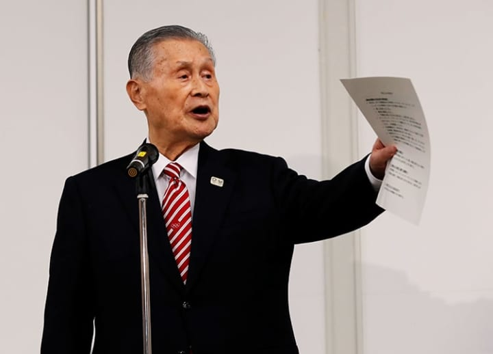 'Gold medal' for sexism: Tokyo Olympic chief draws rebuke