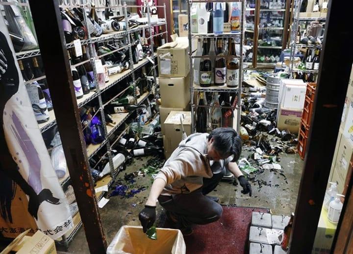 Powerful magnitude 7.3 earthquake jolts Tohoku area, injuring dozens