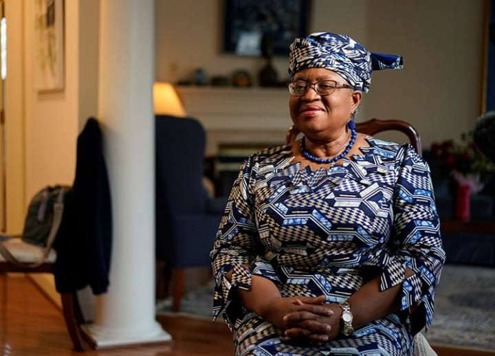 Economist Okonjo-Iweala chosen as 1st woman, African to lead WTO