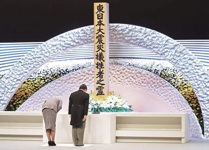 Japan marks 10th anniversary of March 11 triple disaster