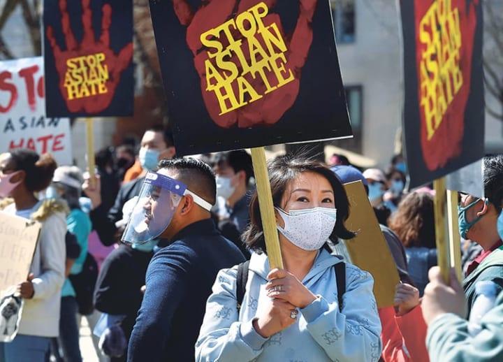 'Speak out': Biden, Harris decry racism against Asian Americans on visit to Atlanta