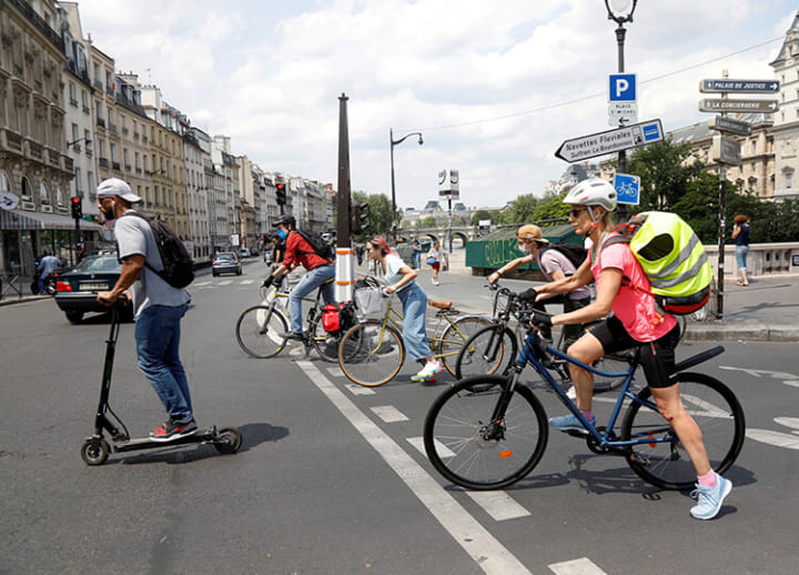 Got an old clunker? France may soon let you trade it in for an electric bicycle