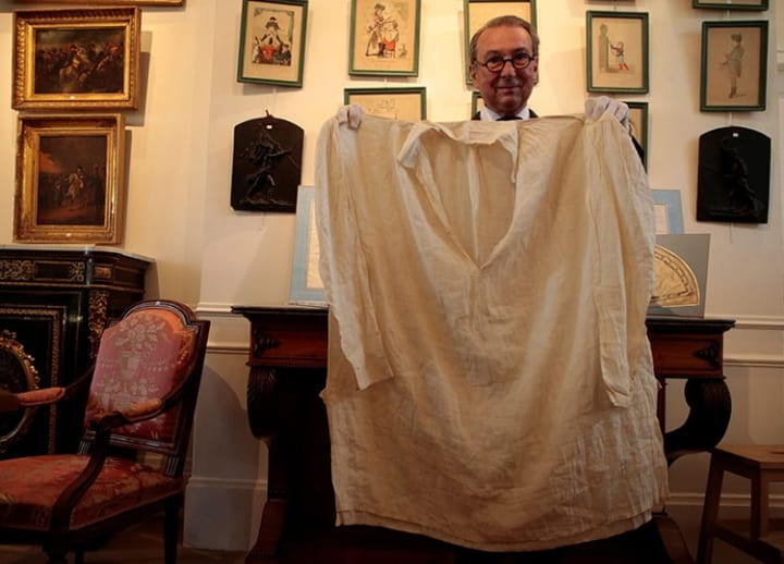 Letter written in English by Napoleon put on display at museum ahead of auction