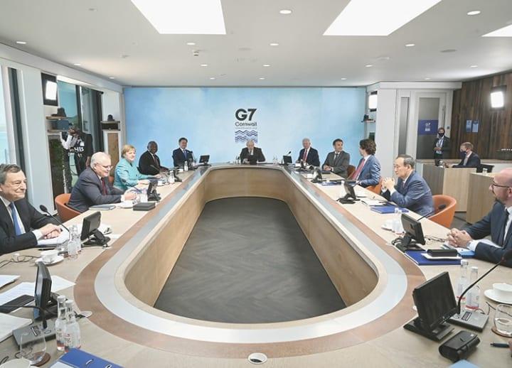 G7 backs Tokyo Olympics, calls for peace across Taiwan Strait