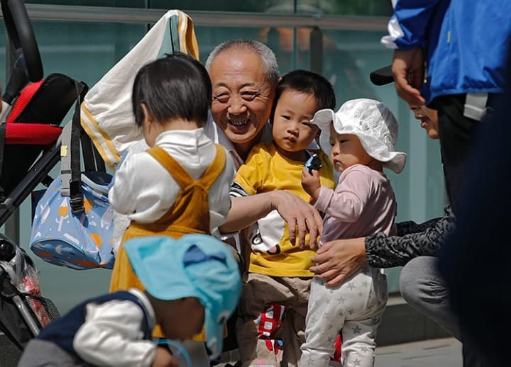 China to allow all couples to have 3 kids, in effort to cope with aging society