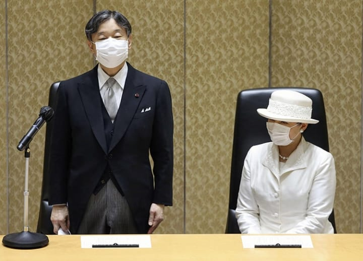 Emperor Naruhito appears concerned Olympics could spread COVID-19: official
