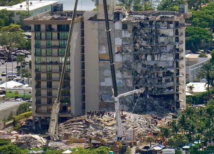 Death toll hits 11 in Florida condo collapse as rescue teams search through rubble
